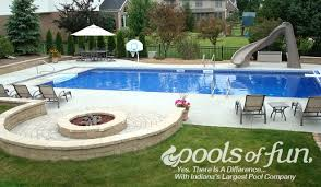 Inground Pool Ideas Inground Pools Photos Pools Of Fun Fire Pit Idea Outdoor Space