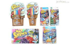 mr sketch scented washable markers movie night stix 6 color
