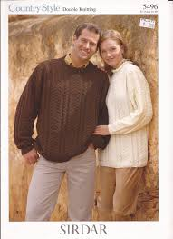 sirdar country style dk knitting pattern 5496 sweaters for men