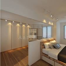 Hdb Bedroom Design With Walk In Wardrobe Hdb Bto Scandinavian European At Blk 308b Punggol Waterway Terrace