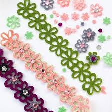 flower accessories diy 3 in 1 felt flower accessories 100 directions