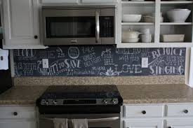 mesmerizing chalkboard paint backsplash for interior home trend