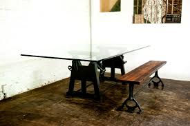 pipe table legs kit fanciful vintage industrial wooden trestle table desk kitchen