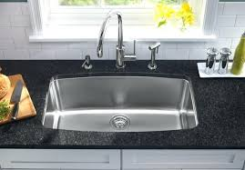Standard Size Double Bowl Kitchen by Kitchen Sink Double Bowl Size Single Sinks Basin Home Design Depth
