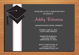 graduation invitations ideas graduation invitation card paso evolist co
