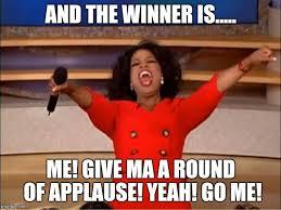 Applause Meme - oprah you get a meme imgflip