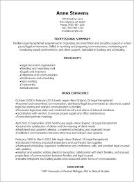 Examples Skills Resume by Professional Legal Receptionist Resume Templates To Showcase Your