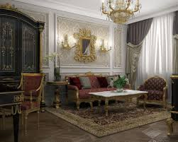 interior design of lux apartments of the bariatinsky palace