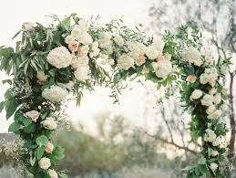 wedding arch greenery el chorro paradise valley az wedding trendy magazine