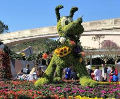Epcot World Showcase Map 2017 Epcot Flower And Garden Festival Future World Topiaries And