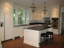 kitchens with dark cabinets and floors comfy home design