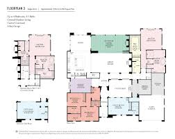 california floor plans upper cielo rancho santa fe california west communities