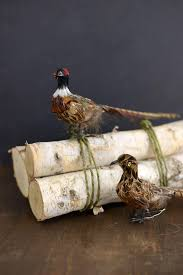 pheasants set of 2