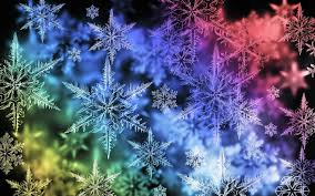 colorful snowflake desktop wallpaper snowflakes pinterest