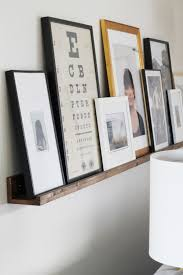 Narrow Picture Ledge The 25 Best Picture Ledge Ideas On Pinterest Diy Wall Shelves