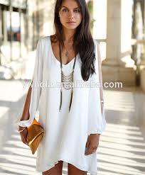 2016 summer womens long sleeve chiffon casual fashion dress buy