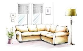 Living Room Design Drawing похожее изображение Interior Pinterest Sketches Interiors