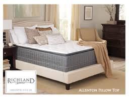allenton pillow top mattress express
