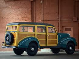 4x4 station wagon pictures of ford standard station wagon by marmon herrington 1940