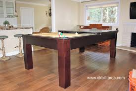 dining tables pool table dining table combo pool table with
