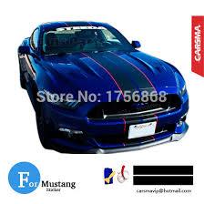 Blue Mustang Black Stripes Pair 20 450cm 8