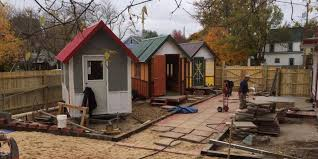 tiny houses for homeless people put roofs over heads in time for