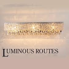 Crystal Bathroom Mirror Online Get Cheap European Bathroom Lighting Aliexpress Com