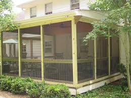 contemporary screened covered patio ideas enclosures from