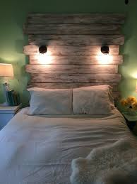 lighted king size headboard reclaimed lighted white queen headboard fender distressed