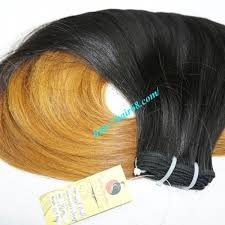 ombre weave supplier ombre weave hair extensions 8 inch high quality