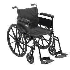 Drive Wheel Chair Drive Cruiser X4 Lightweight Dual Axle Wheelchair With Adjustable