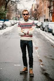 gant by michael bastian men u0027s the winter fair isle crew neck