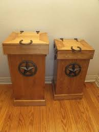 kitchen cabinet garbage can wooden trash can plans wooden garbage can holder outdoor mission