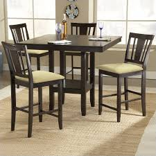 casual dining room sets hillsdale arcadia square counter height casual dining table in