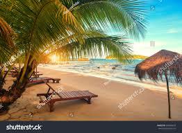 beautiful sunrise koh rong cambodia beach stock photo 546966679