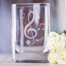 Wine Glass Flower Vase Musical Glass Flower Vase Music Room Direct