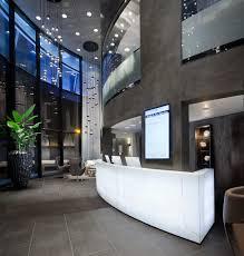Hotel Lobby Reception Desk by Hotel Design Amsterdam Kolenik
