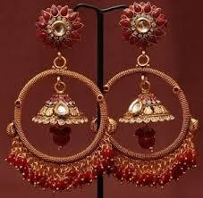 bridal jhumka earrings jhumkas earrings bridal jhumka online shopping for craftsvilla