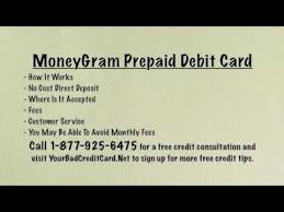 prepaid debit card no fees moneygram prepaid debit card review