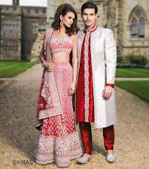 indian wedding dresses for and groom a perfectly coordinated groom in pink and