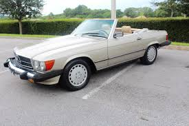 mercedes classic convertible 1989 mercedes 560sl convertible stock 89560sl for sale near