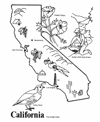 california map outline usa printables state outline shape and demographic map 1 state