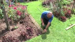 how to install log roll edging forest garden u0026 howarth timber