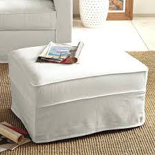 Covers For Ottomans Sure Fit Ottoman Covers Slipcovers Custom Fit Ottoman Covers