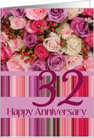 32nd wedding anniversary 32nd wedding anniversary cards from greeting card universe