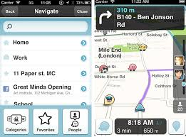 waze android waze free gps and social app for iphone and android review and