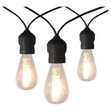 bulb string lights target 10ct vintage led warm white string lights with black wire