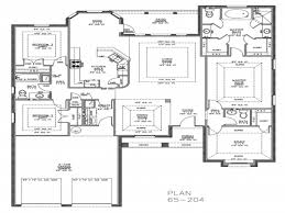 Simple 3 Bedroom House Floor Plans Split Bedrooms Ahscgs Com