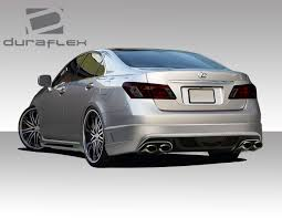 lexus car parts singapore 07 12 lexus es am s duraflex rear body kit bumper 108954 ebay