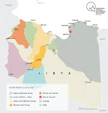 What Does Map Stand For A Quick Guide To Libya U0027s Main Players European Council On